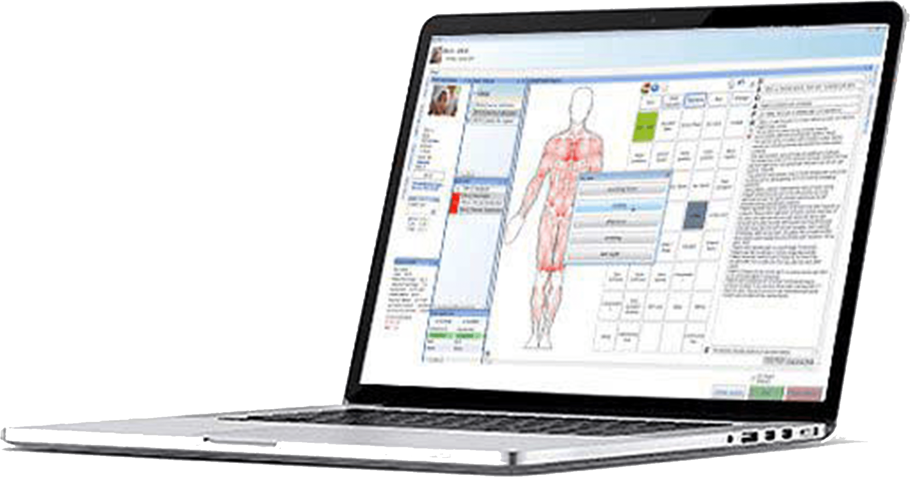 Chiropractic electronic medical records (EMR) software